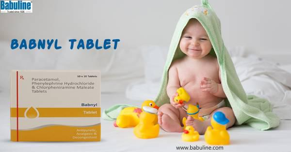 Why babuline babnly tablet is used as a decongestant? - baby