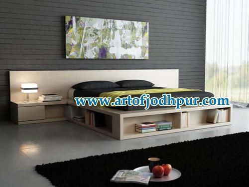 Furniture online wooden storage double beds