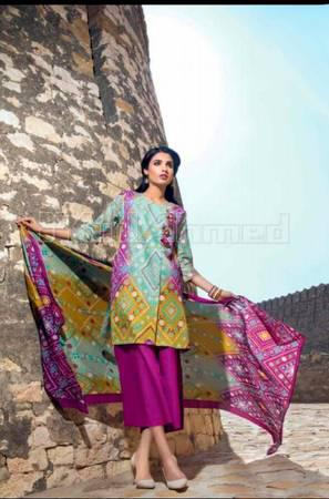Gul ahmed lawn collection 2019 - clothing & accessories - by