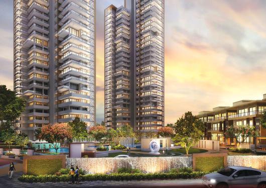 Luxury flat 2 3 bhk puri emerald bay ready to move in