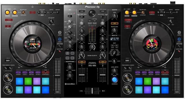 New pioneer ddj800 performance controller for rekordbox dj