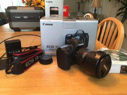 Canon eos 5d mark iv 304mp digital slr camera ef 24105m