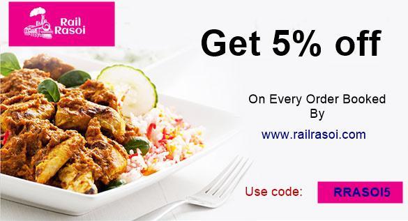 Train food delivery rail rasoi
