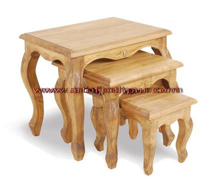 Handicraft furniture online nesting tables