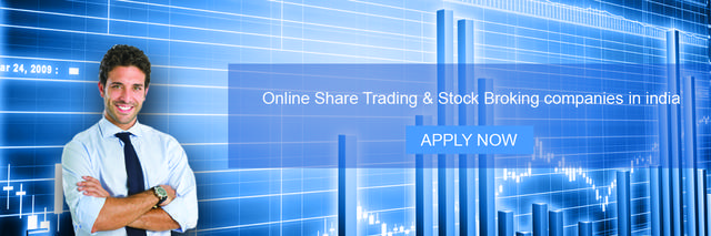 Online share trading & stock broking company