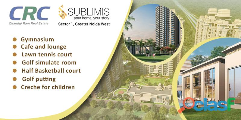 Crc sublimis new residential projects in noida extension