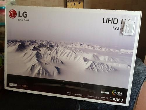 Lg 49 inch ultra hd 4k ultra hd hdr smart led tv bnib