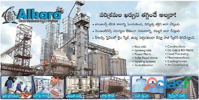 Automatic water softening system for industry in hyderabad
