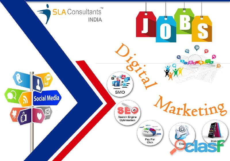 Give your career a remarkable strength with the best digital marketing training in delhi