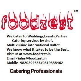 Caterers in mumbai foodzest