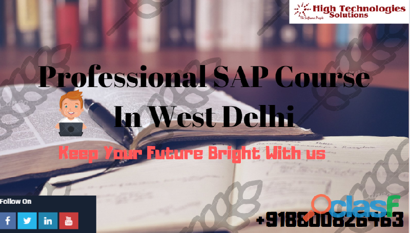 Learn Professional SAP Course In West Delhi