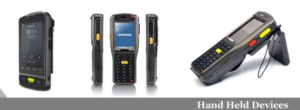 Rfid handheld reader & scanner   portable hf/uhf/nfc rfid