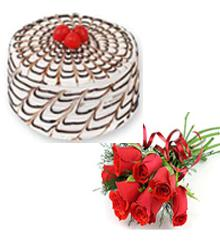 Midnight cake and flower delivery in pune