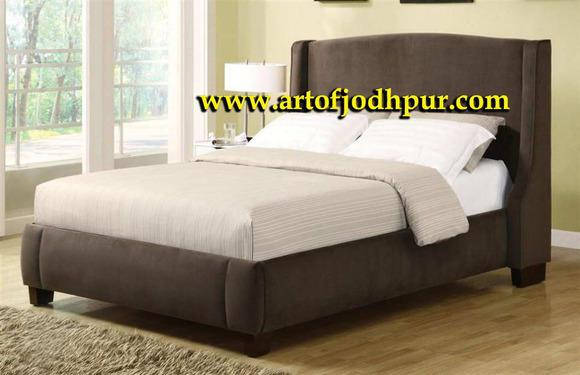 Double bed upholsted with storage furniture online