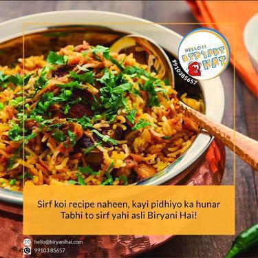 Taste biryani of different places in delhi ncr