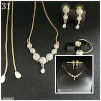 Alloy jewellery sets