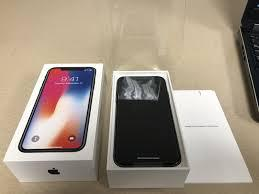 Apple iphone x 256gb space gray unlocked a1901 gsm
