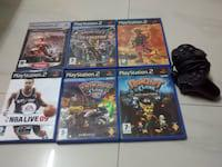 Good condition playstation2 games, 1 ps2 controller, 1 ps2