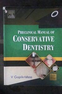 Preclinical manual of conservative dentistry.