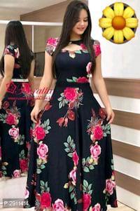 Beautiful floral printed maxi dress!!!