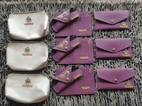 Cosmetic purse , sunglasses holder and women wallet