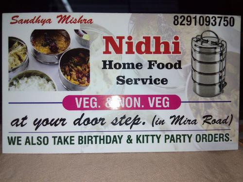 Home cooked tasty food - nidhi tiffin service
