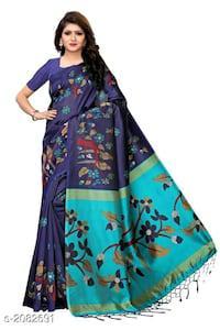 Divine attractive mysore silk printed sarees vol 1