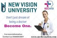 Mbbs in new vision university   nvu rank   fees