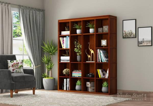 Amazing Sale!!! Get Modern Book Rack Online at 55% OFF -