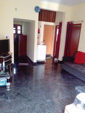 2BHK house for rent in Vidyaranyapura Chamundeshwari Layout