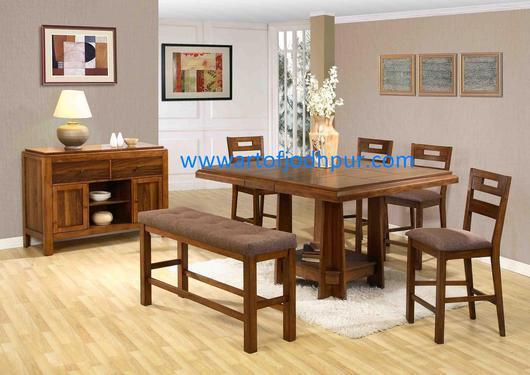 Buy Handicrafts Jodhpur sheesham wood dining sets