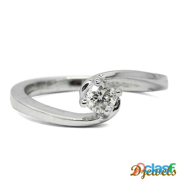 Roundish Shape Diamond Ladies Ring