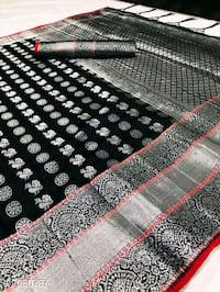 Attractive baleton silk sarees