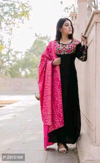 Designer rayon kurti with dupatta!!!