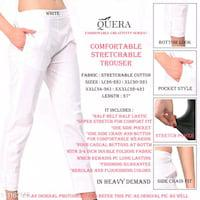 Stretchable cotton womens trousers & pants