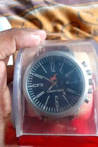 Its a firstrack leather watch