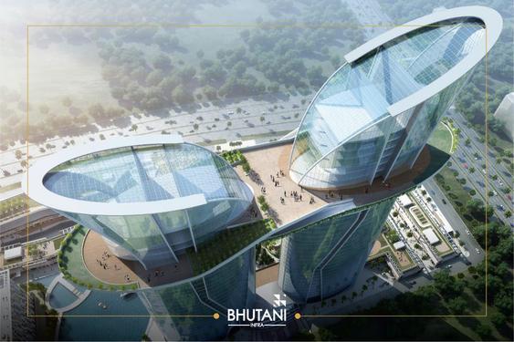 Bhutani grandthum commercial project at noida extension