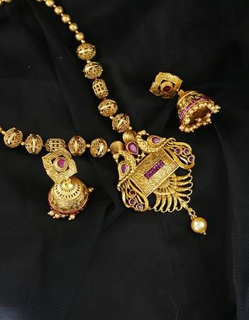 Buy now traditional south indian jewellery and necklace for