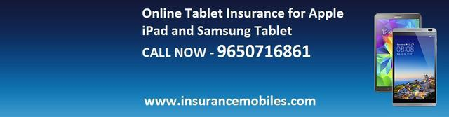 Get best insurance cover for tablets