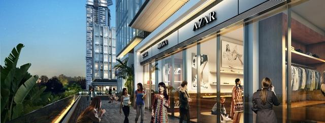 M3m prive 73 retail space food court in sector 73 gurugram