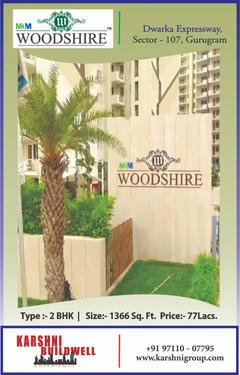 Ready to move luxury apartments m3m woodshire