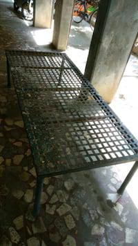 Iron cot