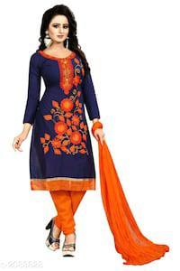 Diva fancy attractive cotton suits & dress materia
