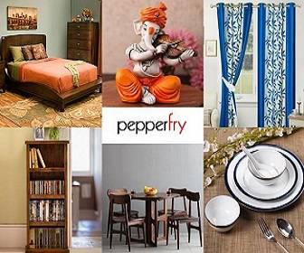 Pepperfry for anything in furniture and home products