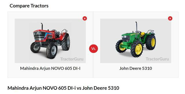 Best place to compare your favourite tractors tractorguru