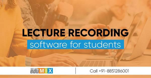 Highly demanded lecture recording software for students-