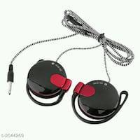 Useful portable wired headphones