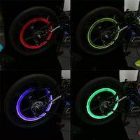 Car bike bicycle motorcycle tire air valve led lamp