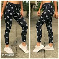 Cotton printed jeggings