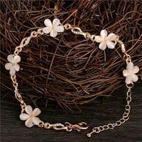 Fashion bridal jewelry flower opal
